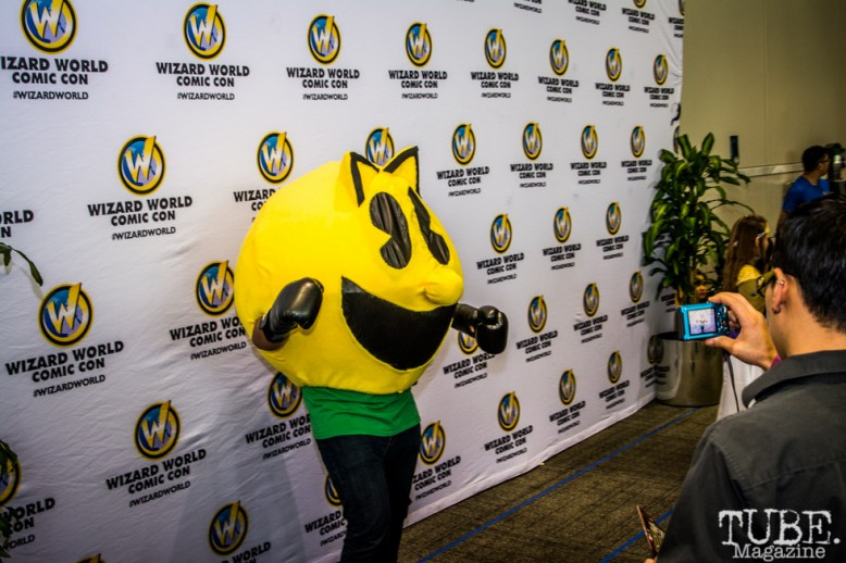 Pac-Man Cosplay. Sacramento Wizard World Comic Con 2015. Photo Sarah Elliott