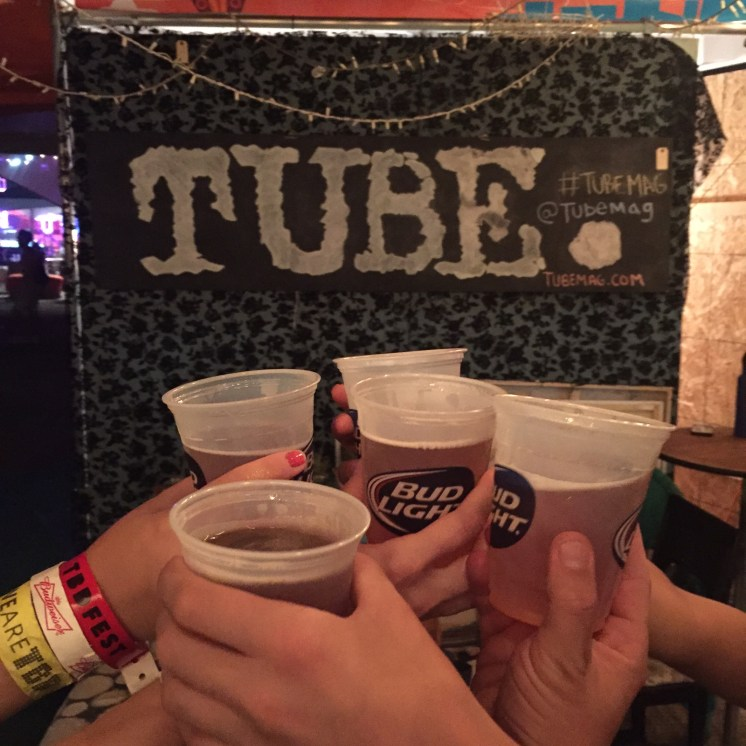 Cheers at the end of an incredibly fun weekend at TBD Fest. 2015. Photo Andy Simpson.