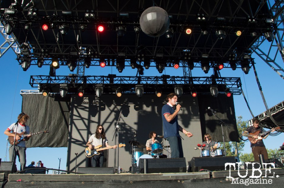 The Growlers playing on the TBD Stage at TBD Festival in Sacramento, Ca. September 2015. Photo Alejandro Montaño