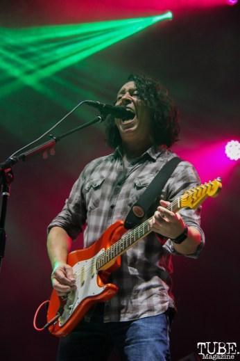 Tears for Fears' guitarist, Roland Orzabal at TBD, Sacramento CA.September 20,2015. Photo Anouk Nexus