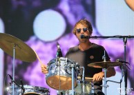 Allah-Las' drummer, Matthew Correia at TBD, Sacramento CA.September 20,2015. Photo Anouk Nexus