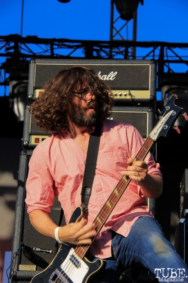 Dinosaur Jr's bassist, Lou Barlow at TBD, Sacramento CA. September 20, 2015. Photo Anouk Nexus