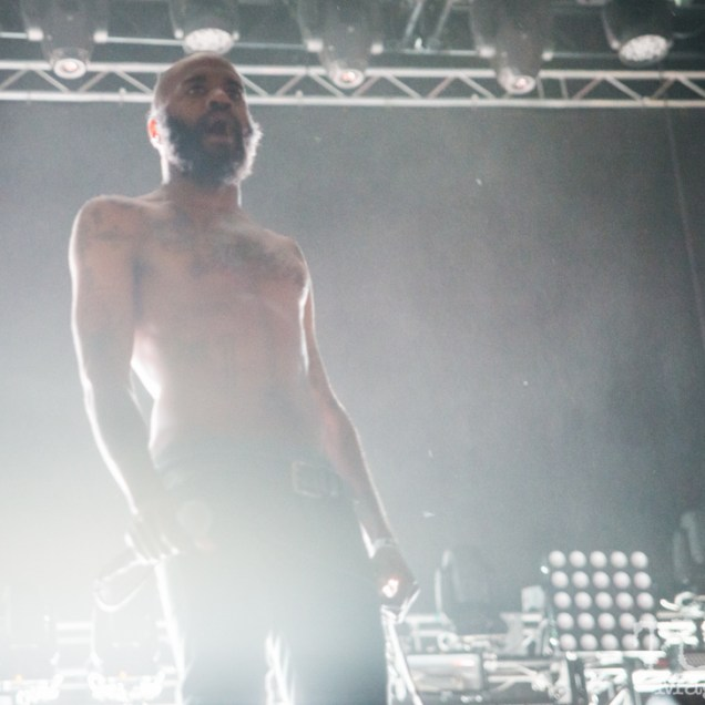 MC Ride lead singer of Death Grips, Tbd Fest, Sacramento, Ca 2015 Photo Melissa Uroff