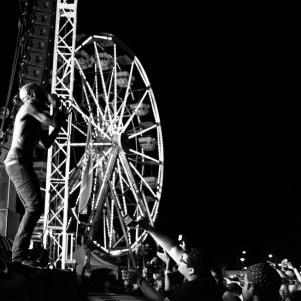 MC Ride lead singer of Death Grips, Tbd Fest, Sacramento, Ca 2015 Photo Sarah Elliott