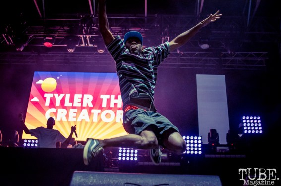 Tyler the Creator at TBD Fest, Sacramento CA. 2015 Photo Sarah Elliott