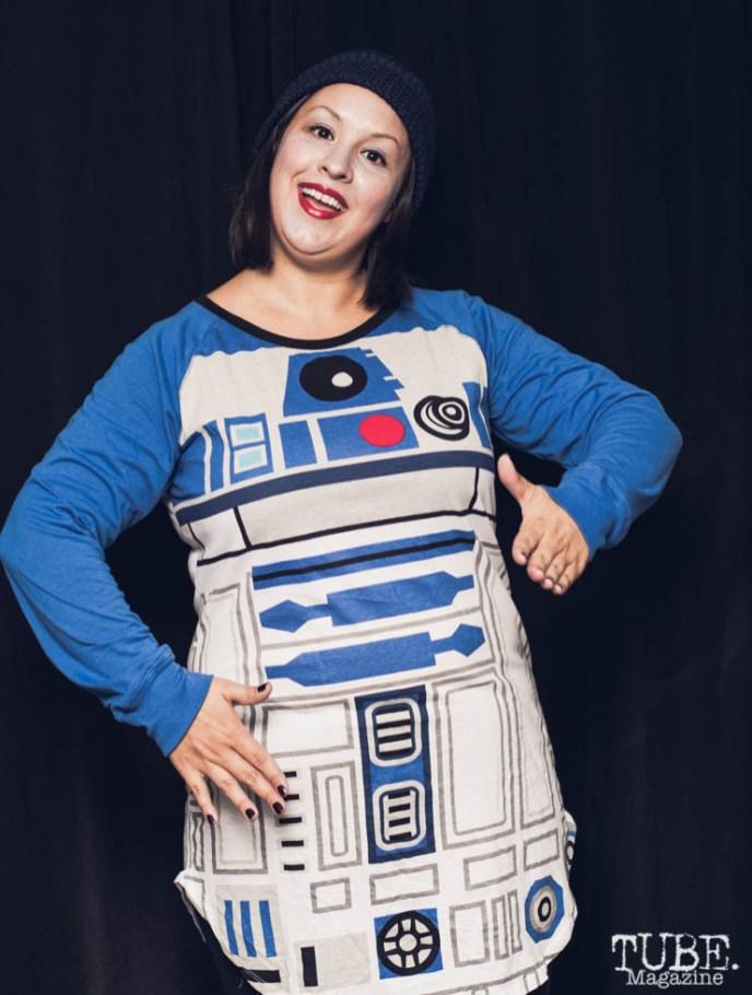 Star Wars Groupie. Photo Sarah Elliott. 2015.