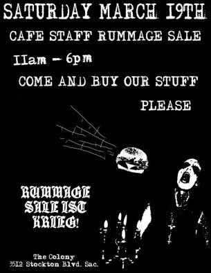 colony rummage sale