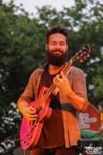 Ryan Tillema Guitarist of James Cavern, Cesar Chavez Park, Sacramento, CA. May 6th, 2016. Photo Anouk Nexus