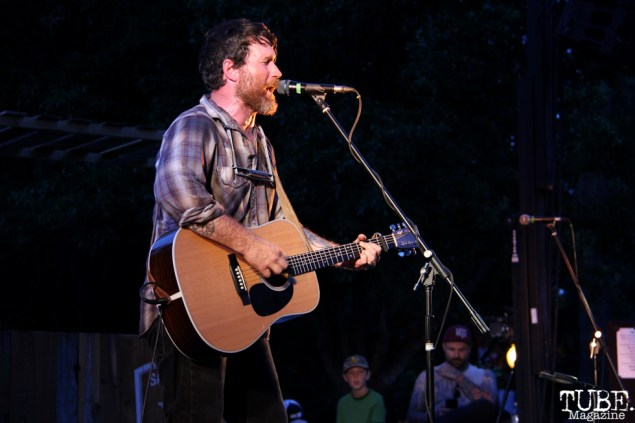 Chuck Ragan singer/guitarist, Concerts in the Park, Cesar Chavez Park, Sacramento, CA. May 27, 2016, Photo Anouk Nexus