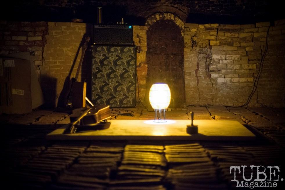Inside the kiln at The Panama Art Factory. April 2016. Photo Melissa Uroff