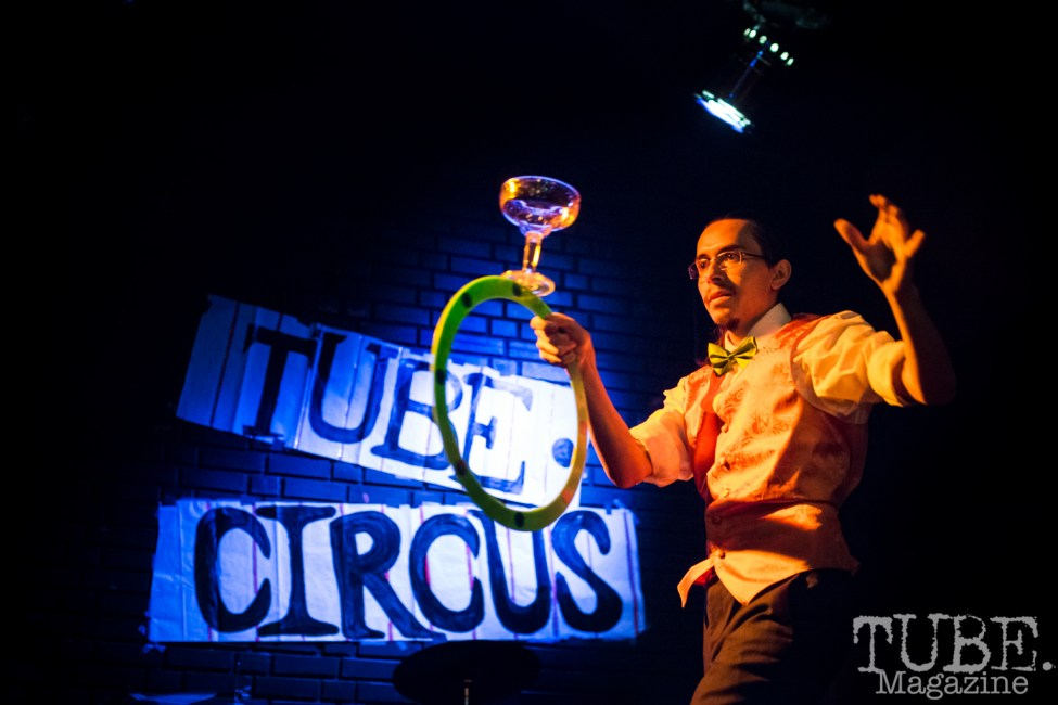 Draco Diabolo. TUBE. Circus, Blue Lamp, Sacramento, May 2016. Photo Melissa Uroff