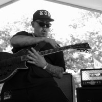 Guitarist of Kill The Precedent, Concerts in the Park, Cesar Chavez Park, Sacramento, CA. June 3, 2016, Photo Anouk Nexus