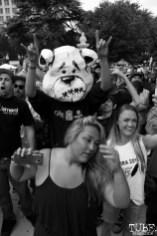 Crowd during Who Cares' set, Concerts in the Park, Cesar Chavez Park, Sacramento, CA. June 17, 2016. Photo Anouk Nexus