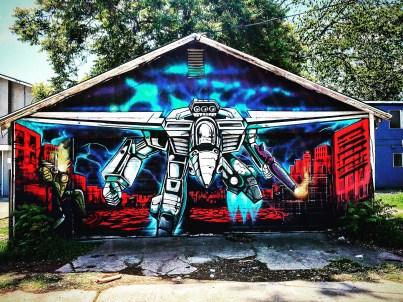 Unknown artist, Uptown Alley, Sacramento, CA