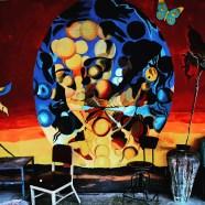 Student mural collaboration, Sacramento State University, Sacramento, CA