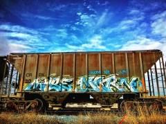 Box Car, Artist Unknown, Granite Regional Park, Sacramento, CA