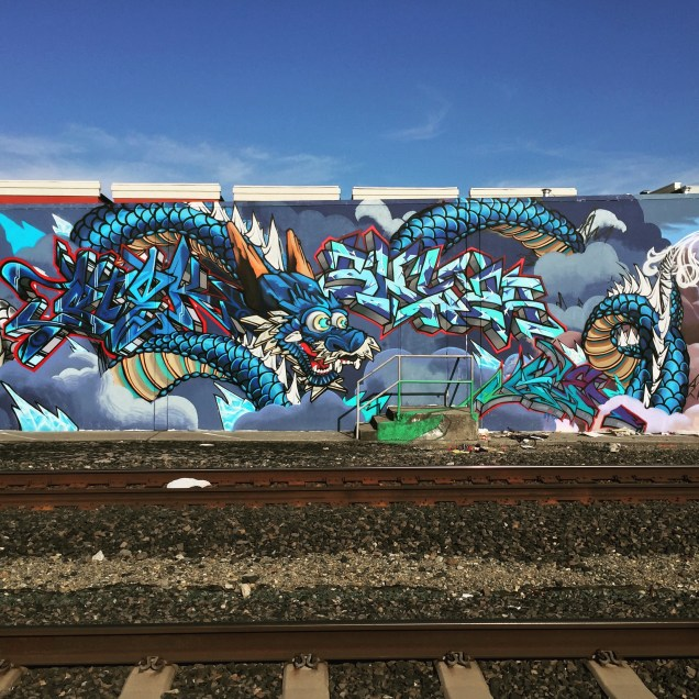 Dragon mural, 20th and S