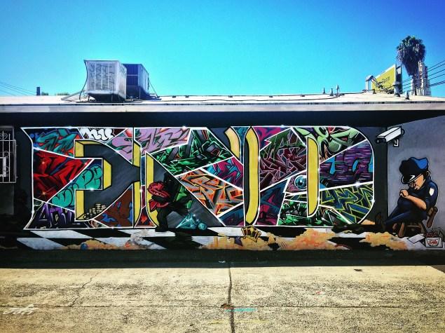 """Style Vault,"" by Mynas, Good Hands Barbershop, 2416 16th Street, Sacramento, CA"