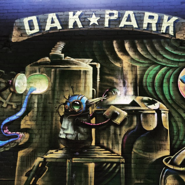 """Alechemizing"" by Shaun Burner and S.V. Williams at Oak Park Brewery, 3514 Broadway, Sacramento, CA"