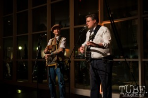 Freebadge Serenaders performing at Vintage Swank ArtMix, Crocker Art Museum, March 2017. Photo Melissa Uroff