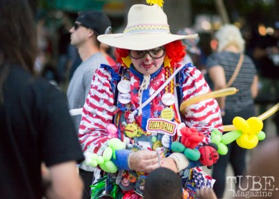 The Balloon Lady. Concert in the Park, Sacramento CA 2017 Photo Dan Tyree