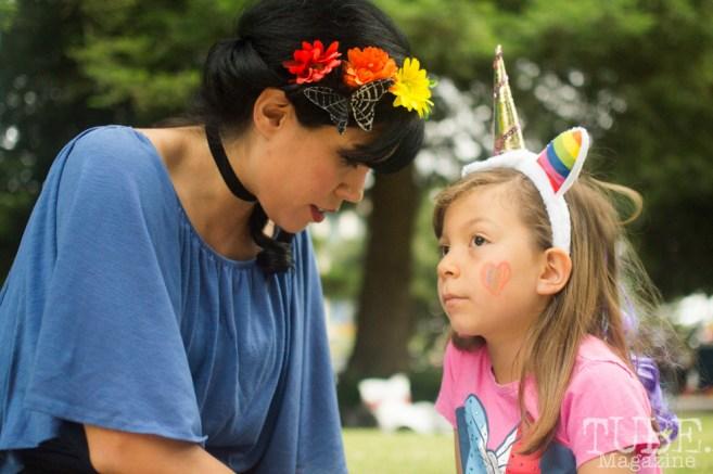 Christina Marie and daughter. Sacramento Pride Festival, Sacramento, CA. June 2017. Photo: Dan Tyree