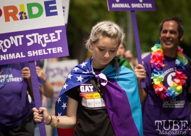 Team Front Street. Sacramento Pride Festival, Sacramento, CA. June 2017. Photo: Dan Tyree