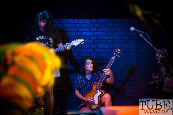 La Luz. Blue Lamp. Sacramento CA. July 2017. Photo Melissa Uroff