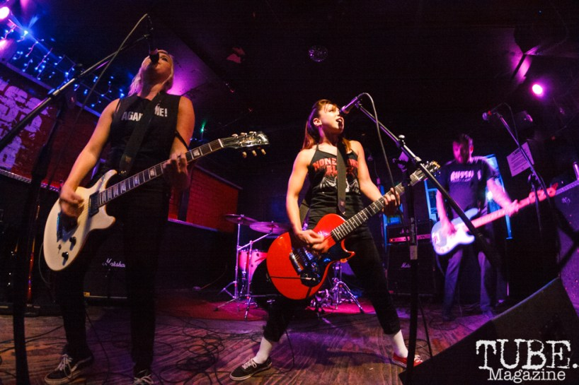 The Bombpops at The Press Club in Sacramento, CA. August 10,2017. Photo: Cam Evans