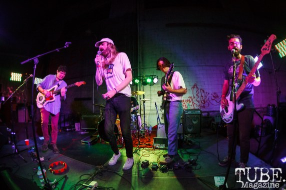Ganglians performing at The Red Museum for Red Ex Volume 1 in Sacramento, CA (8-26-2017). Photo Cam Evans