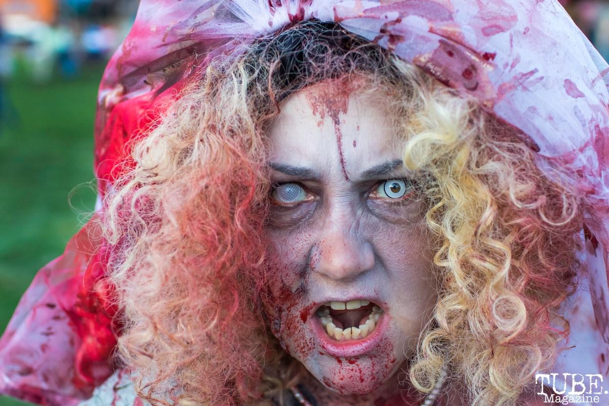 Sacramento Zombie Walk, Roosevelt Park, Sacramento, CA. August 26, 2017. Photo Mickey Morrow