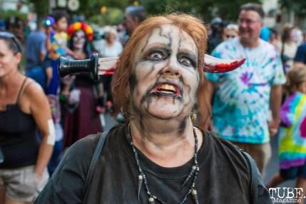 Sacramento Zombie Walk, Downtown, Sacramento, CA. August 26, 2017. Photo Mickey Morrow