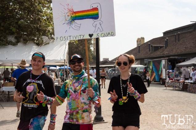 Positivity Squad at HOFDAY in Sacramento, CA (9/16/2017). Photo Cam Evans.