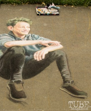 Incredible Realism, Chalk It Up, Fremont Park, Sacramento, CA, September 4, 2017 Photo Dan Tyree