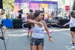 Attendees hula hooping, THIS is Midtown, 20th street, Sacramento, CA. September 9, 2017. Photo Mickey Morrow