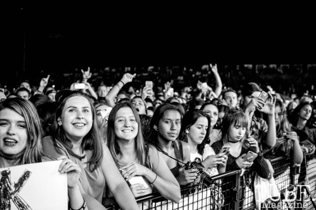The crowd enjoying the music at City of Trees at Cal Expo, in Sacramento, Ca. September 2017. Photo Heather Uroff