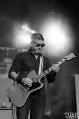 Guitarist Bill Kelliher of Mastodon, Aftershock, Discovery Park, Sacramento, CA. October 21, 2017. Photo Anouk Nexus