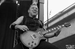 Guitarist Billy Grey of Fozzy, Aftershock, Discovery Park, Sacramento, CA. October 22, 2017. Photo Anouk Nexus