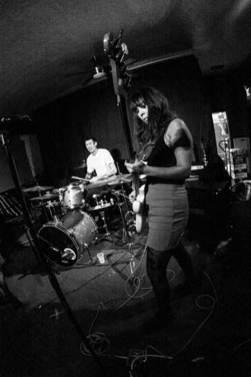 Las Pulgas performing at Cafe Colonial, in Sacramento Ca. December 2017. Photo Cam Evans.