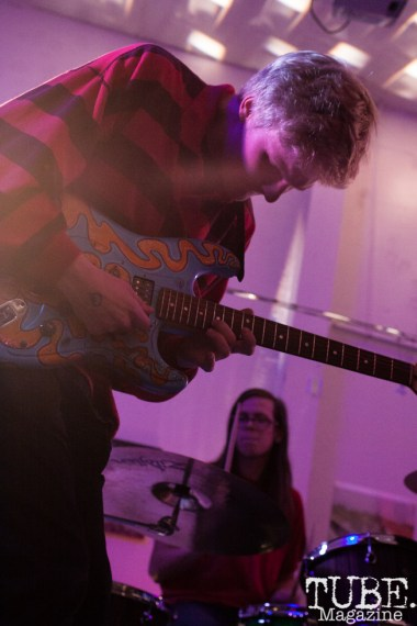 Spencer Rakela of Animals In The Attic performing at Sol Collective in Sacramento, CA (12/12/2017). Photo Cam Evans