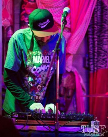 DJ Zephyr, Power House Pub, Folsom, CA January 17, 2018, Photo by Dan Tyree