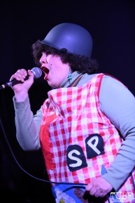 X Ray Spex, The Halloween Show, Verge Center for the Arts, Sacramento CA, March 24, 2018. Photo Daniel Tyree