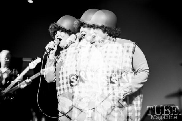 X Ray Spex, Halloween Show, The Verge, Sacramento CA, March 24, 2018. Photo Melissa Uroff