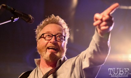 Dave King of Flogging Molly, Ace of Spades, Sacramento, CA, March 21, 2018. Photo by Daniel Tyree