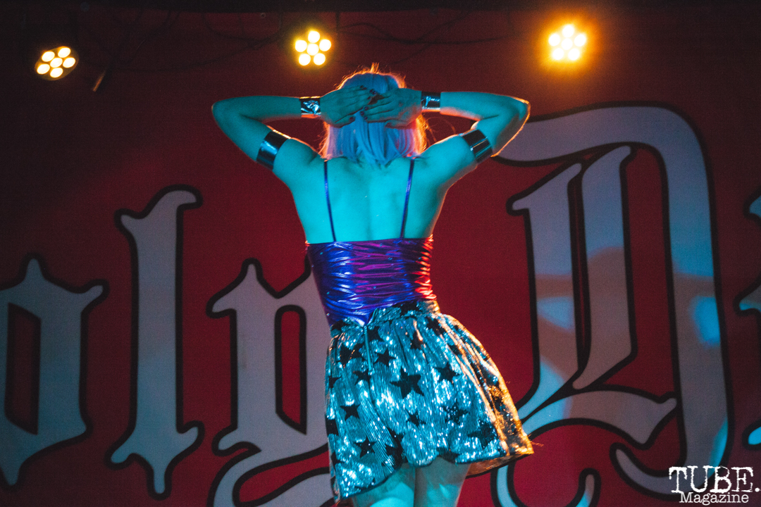 Andria Starling performing at Holy Diver in Sacramento, CA (4/25/2018). Photo Cam Evans.