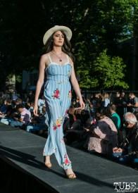 Ana Maria Perez wearing clothes from Heart Boutique, Dress Up-Wine Down, Capitol Avenue, Sacramento, CA. May 12th, 2018. Photo Mickey Morrow