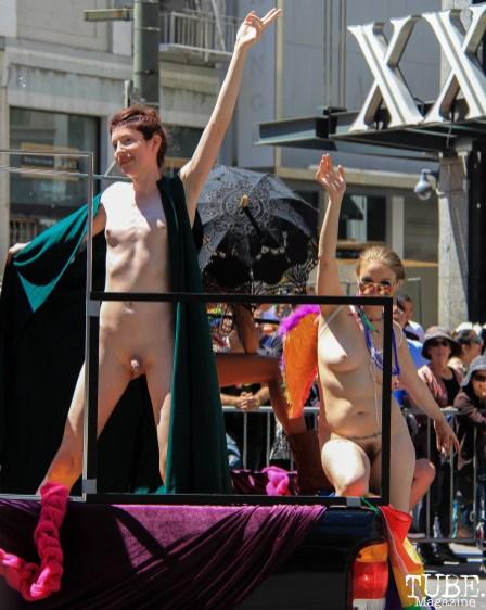 48th Annual SF LGBT Pride Parade, San Francisco, CA. June 24th, 2018. Photo Anouk Nexus