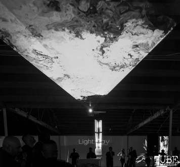 Smokey Projections, Light.Wav Sacramento Tech-Art Showcase, Sacramento, CA, June 16, 2018, Photo by Daniel Tyree