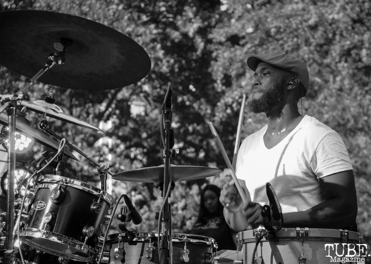 Mino Yanci, Concerts in the Park, Cesar Chavez Park, Sacramento, CA. July 13th, 2018. Photo Anouk Nexus