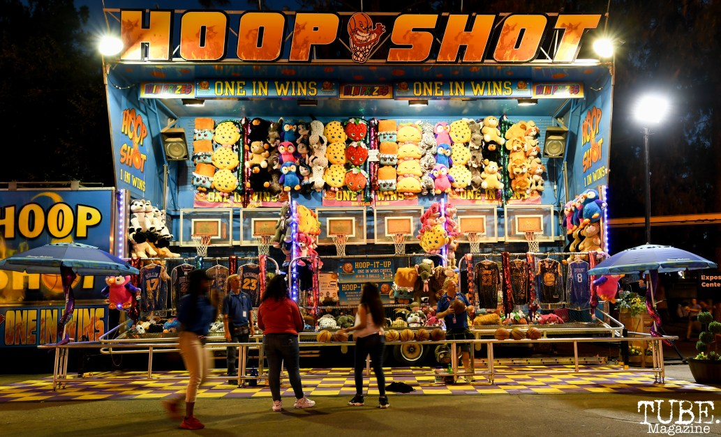 Hoop Shot, California State Fair, Cal Expo, Sacramento, CA, July 13, 2018 Photo by Daniel Tyree